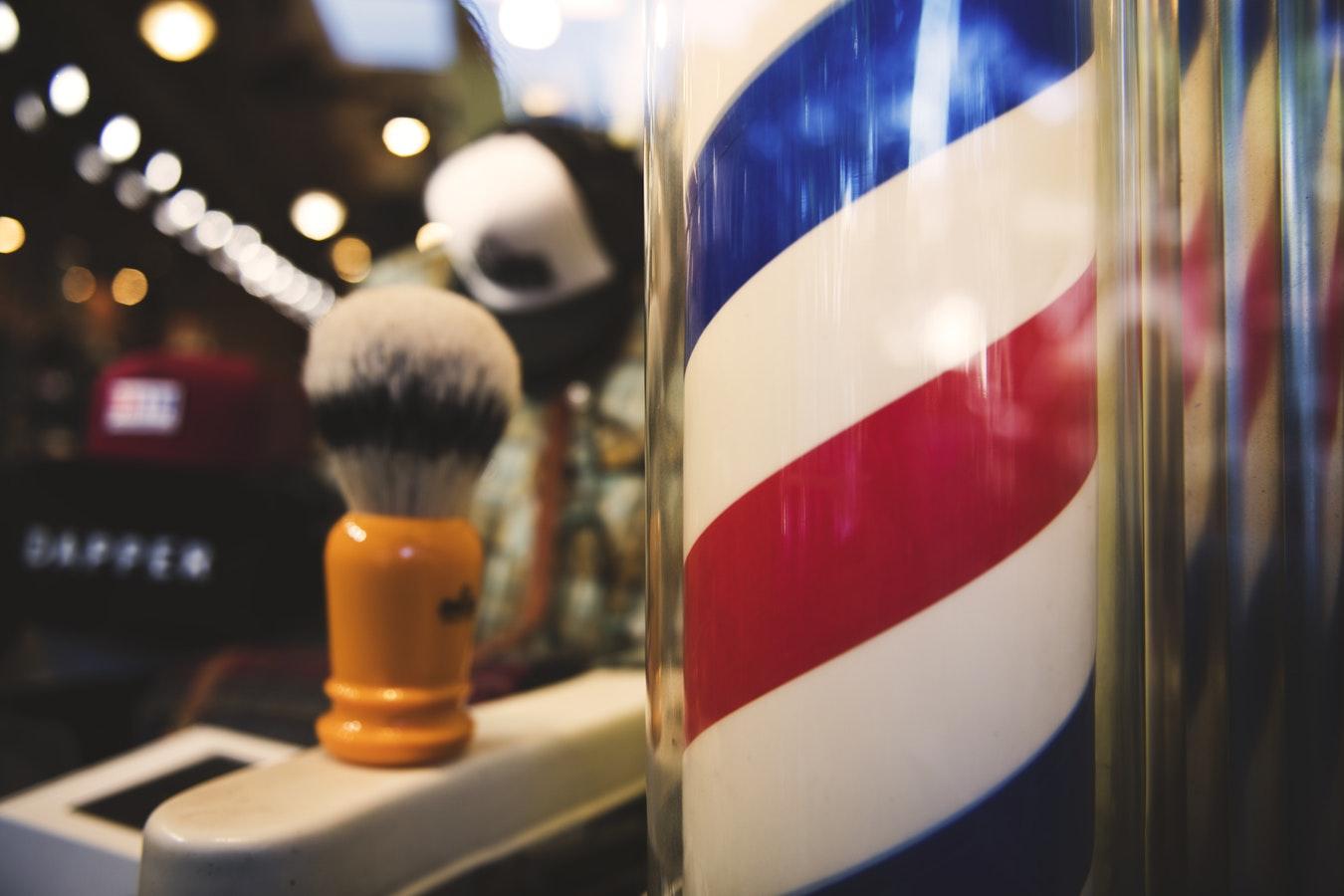 palo da barbiere