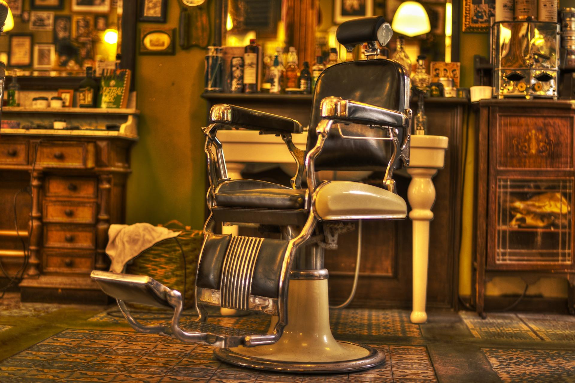 arredamento di barber shop